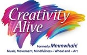November 10, 2-4 pm Creativity Alive (formerly Mmmwhah!)