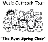 Music Outreach Tour vocal performances by the Ryan Spring Choir April 19 @ Josephine Commons, 12:30 p.m. and The Lafayette Library, 1:15 p.m.