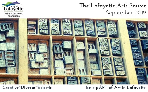 Antique letterpress letter blocks from the (im)press Exhibit at The Collective through 9/29