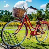 Bicycle on Beautiful Day