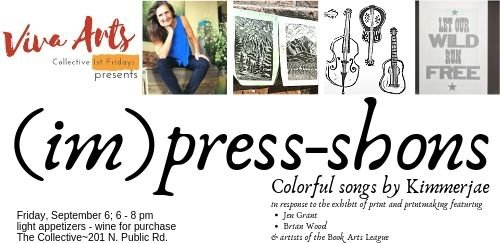 Viva Arts First Friday at The Collective September 6; 6-8pm