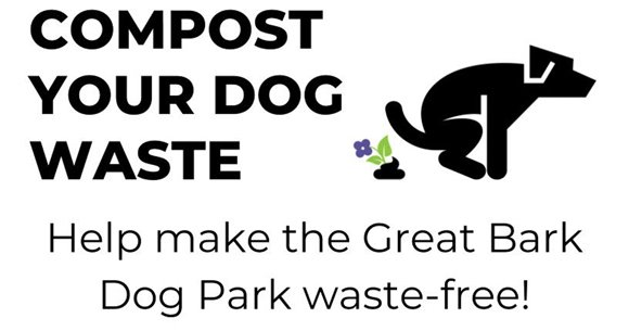 New dog compost program at the Great Bark Dog Park