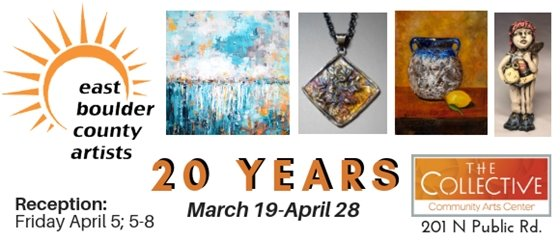 20 years of East Boulder County Artists Association