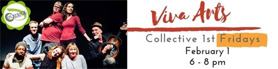 Viva Arts First Fridays at The Collective Feb 1, 6-8 PM Playback Theatre