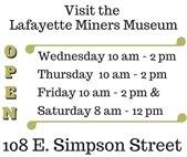 Lafayette Miners Museum