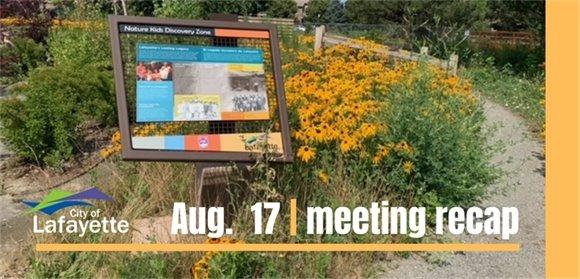 August 17 City Council recap