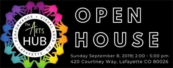 Open House at the Arts Hub Sept. 8; 2-5