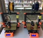3D printers in action