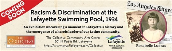 Coming soon to the Collective: Racism and Discrimination at the Lafayette Swimming Pool in 1934