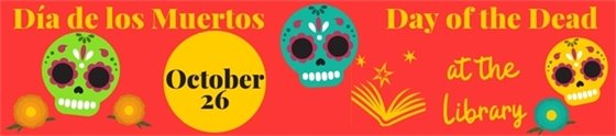 Day of the Dead at Lafayette Public Library