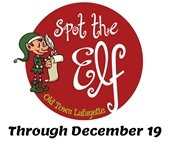 Spot the Elf in Old Town Through Dec. 19 Get your booklet at The Bob Burger Rec Center