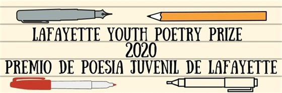 Deadline extended to April 6 for Lafayette Youth Poetry Prize