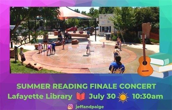 July 30, 10:30 AM; Jeff & Paige @ Festival Plaza