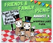 Peanut Butter Players Family Picnic August 3