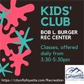 Lafayette Rec CenterKids' Club