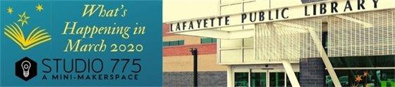 Lafayette Public Library March 2020