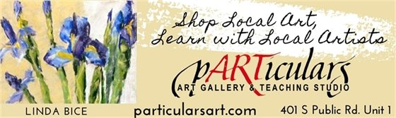 Sign up to make some art with local artists at pARTiculars Art Gallery and Teaching Studio