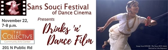 11/22; 7-8 PM San Souci: Drinks 'n' Dance Film at The Collective