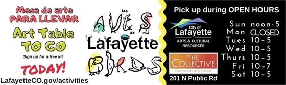 New Art Table To Go Kits Available - Register for Free!