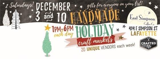 Holiday Craft Market