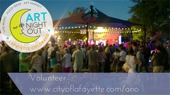 Volunteer at Art Night Out