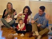 Babies learning music