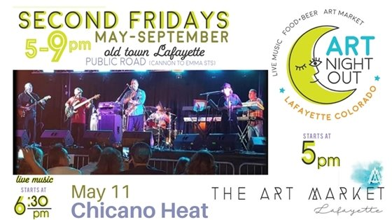 Art Night Out featuring Chicano Heat