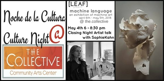 May 4 Culture night with Sophie Kahn