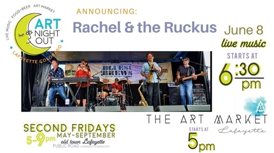 Art Night Out featuring Rachel & the Ruckus