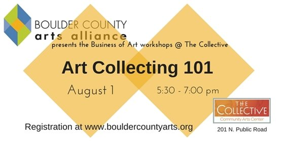 BCAA Free Workshop: Art Collecting 101 August 1, 5-8pm