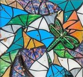 mosaic class with Delicia Litt at pARTiculars 401 S. Public Road Unit 1 Lafayette, CO 80026