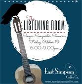Singer-songwriter Showcase at E Simpson Coffee 10/19