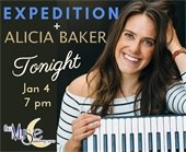 Alicia Baker at The Muse Performance Space in Lafayette 7PM 1/4/2019