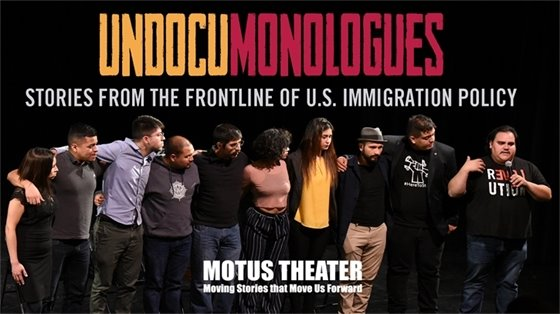 Undocumonlogues by Motus Theater at The Arts Hub: September 24; 7 pm