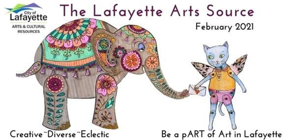 The Lafayette Arts Source Newsletter - Be a pART of Art in Lafayette