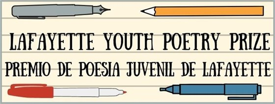Announcing the 2020 Lafayette Youth Poetry Prize Winners!