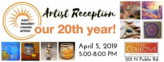 East Boulder County Artists Celebrate 20 years at The Collective 4/5; 5-8 PM