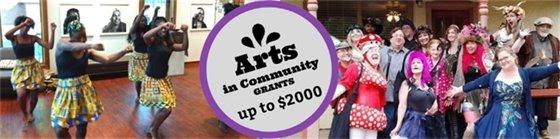 Arts in Community Grants deadline Sept 9, 2019