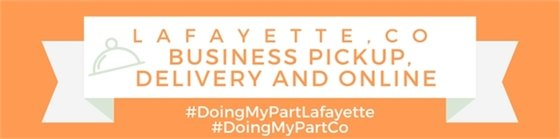 Lafayette Business Pickup, Delivery and Online
