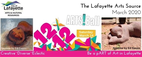 March 14 Don't miss the Arts!Ball Fundraising Event at the Arts Hub