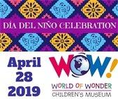 Dia del Nino at WOW! April 28