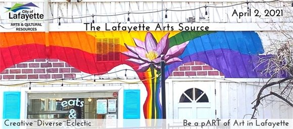 The Lafayette Youth Advisory Commission's new mural promotes mental health awareness and resources