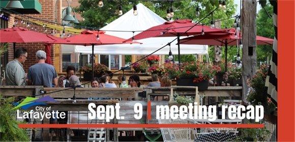 Sept. 6City Council recap