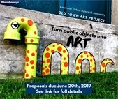 Call for entry to paint in Old Town Lafayette