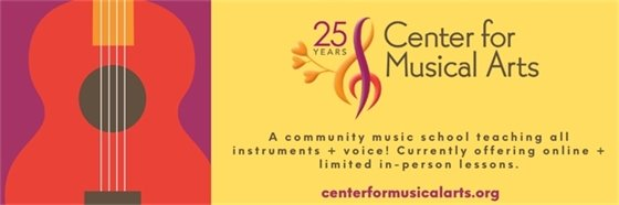 25 years of Classes at the Center for Musical Arts