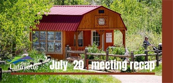 July 20 City Council recap