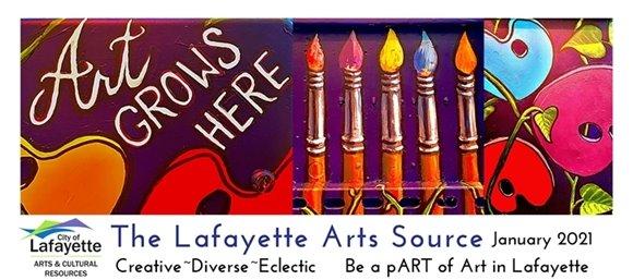 Jan 2021 Lafayette Arts Source