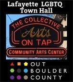 Lafayette LGBTQ Town Hall May 22, 6-7:30 PM