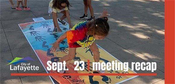 Sept. 23  City Council recap