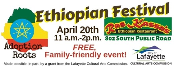 Ethiopian Festival at Ras Kassas's Restaurant April 20, 11-2PM